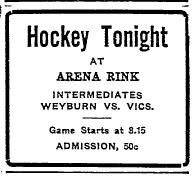 1918-19 Saskatchewan Intermediate Playoffs