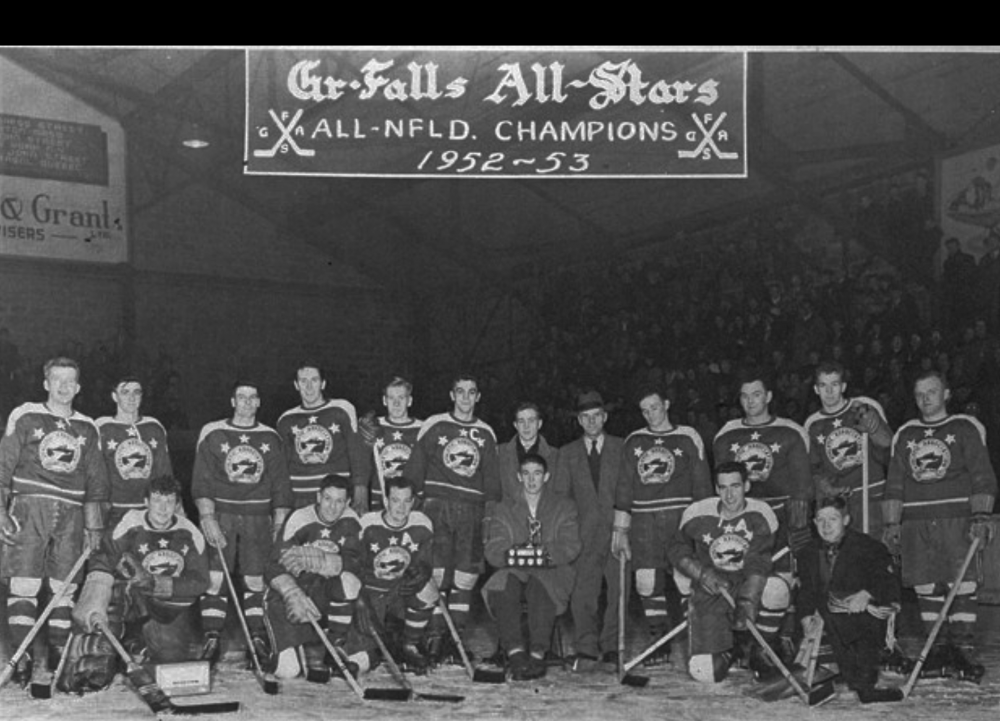 1952-53 Newfoundland Senior Season