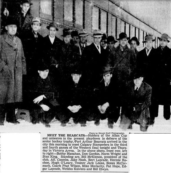 1939-40 Thunder Bay Senior Playoffs