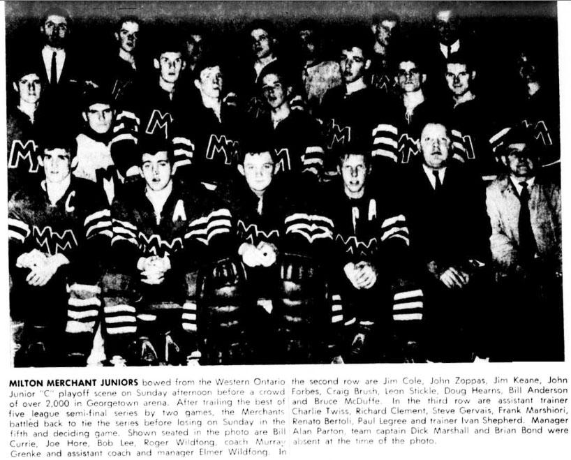 1965-66 OHA Junior C Season