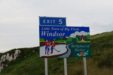 Windsor Nova Scotia exit sign.jpg