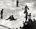 1941-Jan-NYR-Hawks fight