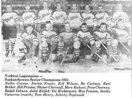 1950-51 Saskatchewan Senior Playoffs