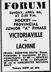 1964-65 Quebec Junior Playoffs