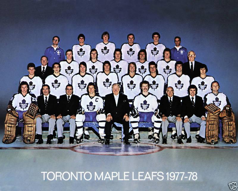 1977–78 Toronto Maple Leafs season