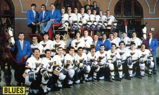 1988–89 St. Louis Blues season