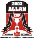 2003 Allan Cup