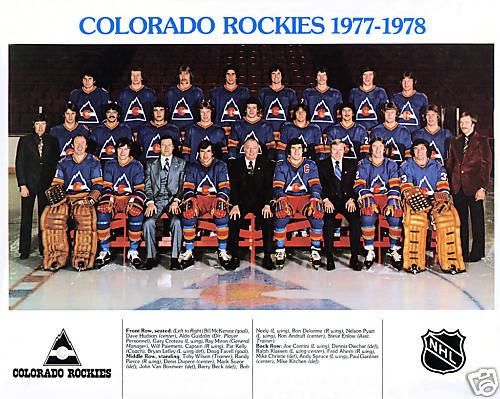 1977–78 Colorado Rockies season