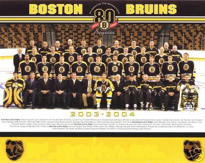 2003–04 Boston Bruins season