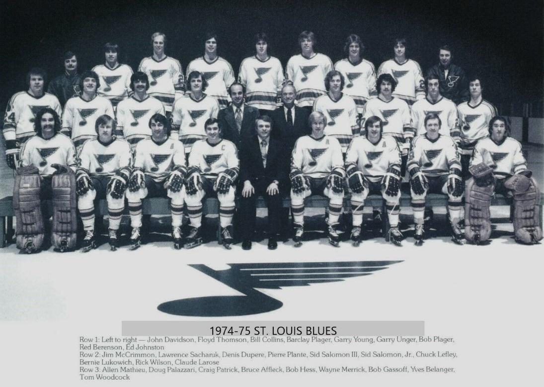 1974–75 St. Louis Blues season