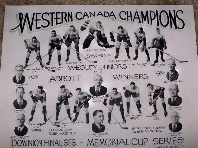 1935-36 Memorial Cup Final