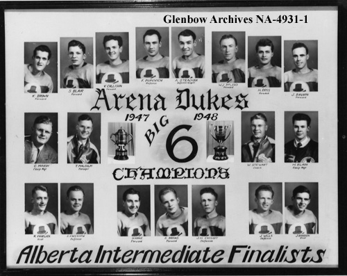 1947-48 Alberta Intermediate Playoffs