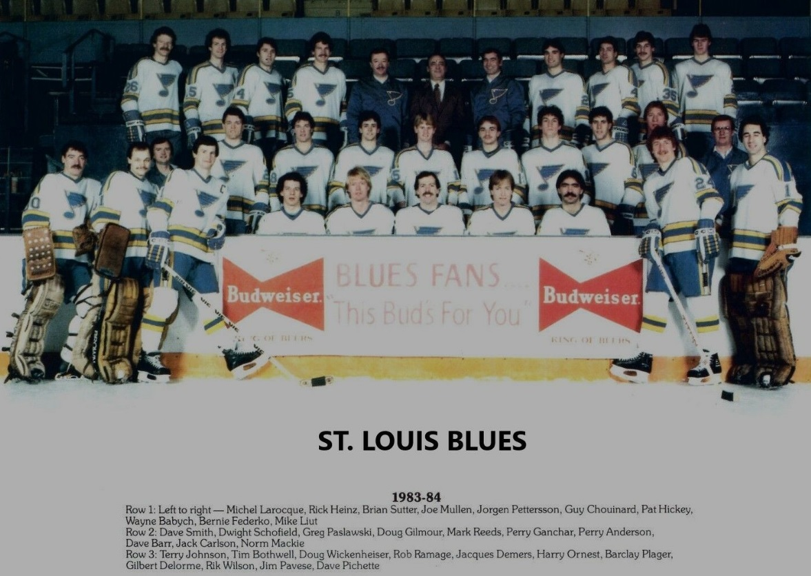 1983–84 St. Louis Blues season