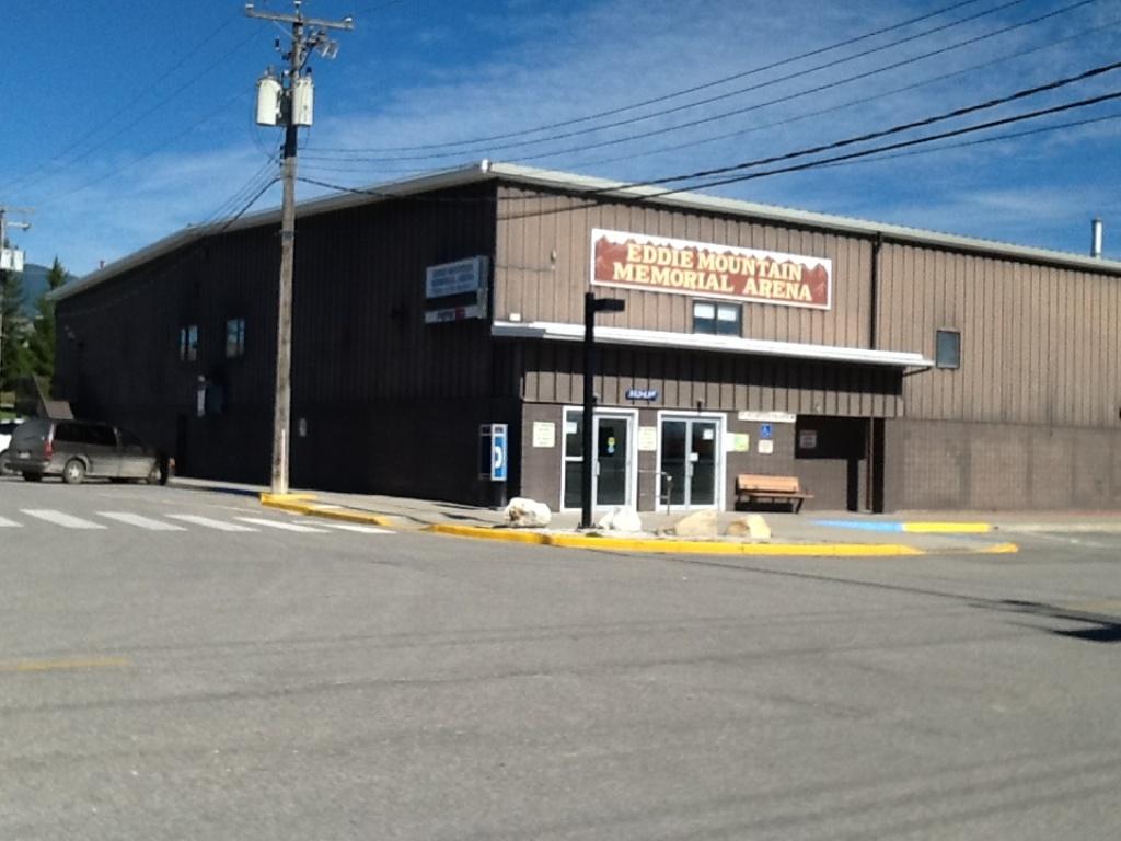Eddie Mountain Memorial Arena