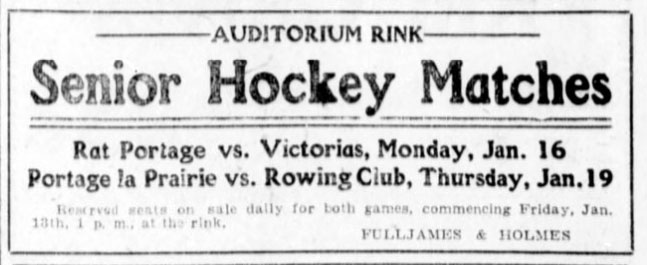 1904-05 Manitoba Senior Playoffs