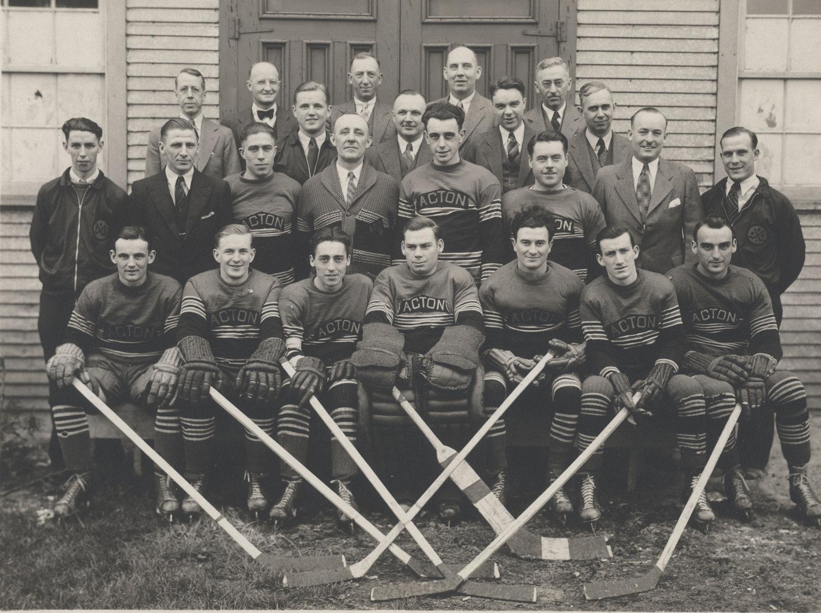 1935-36 OHA Intermediate B Groups