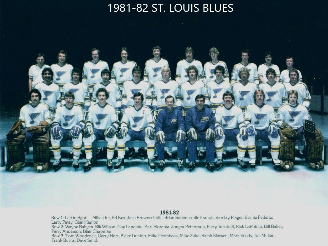 1981–82 St. Louis Blues season