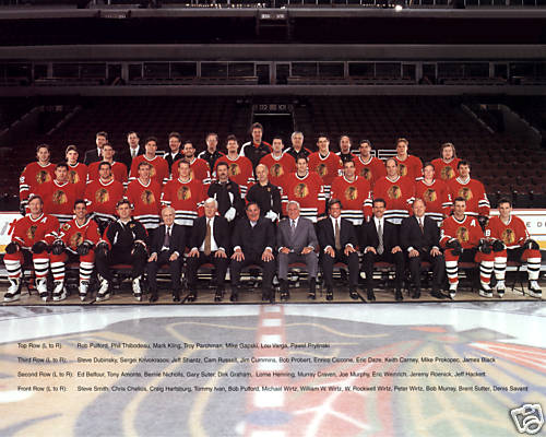 1995–96 Chicago Blackhawks season