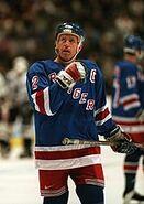 Brian Leetch New York Rangers 1997 Vancouver