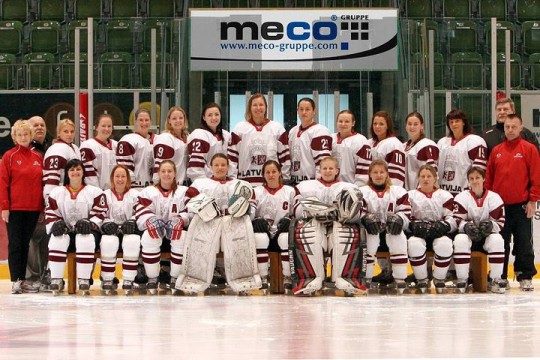 Women's Latvian National Team