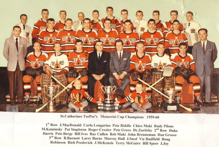 1959-60 Eastern Canada Memorial Cup Playoffs