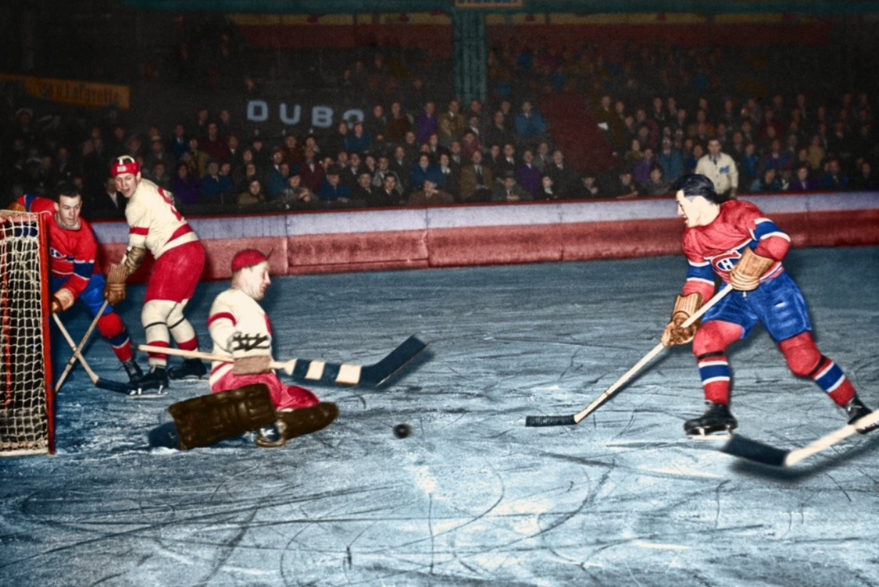 1938 Detroit Red Wings–Montreal Canadiens European tour