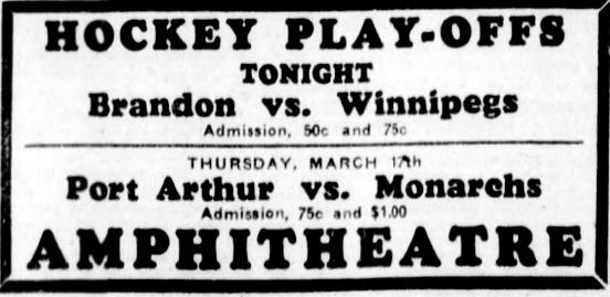 1931-32 Manitoba Senior Playoffs