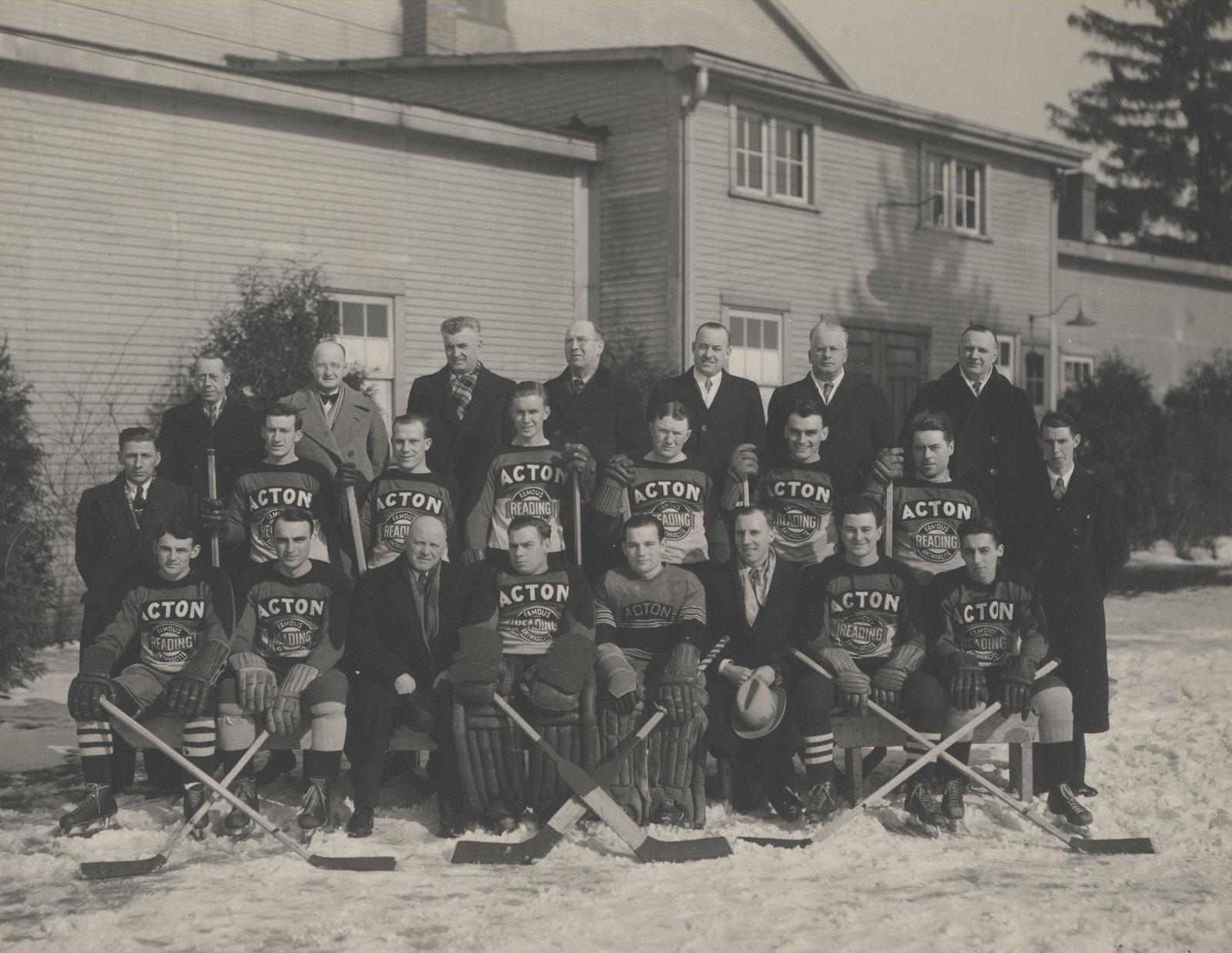 1936-37 OHA Intermediate B Groups