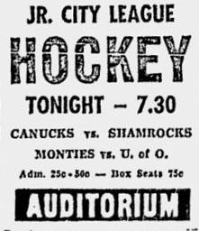 1956-57 Ottawa City Junior League