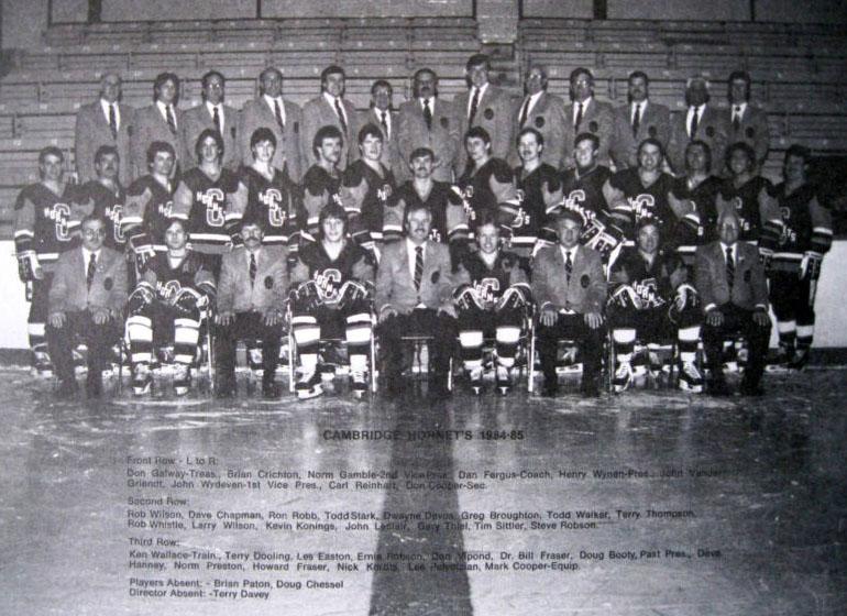 1984-85 OHA Senior Season