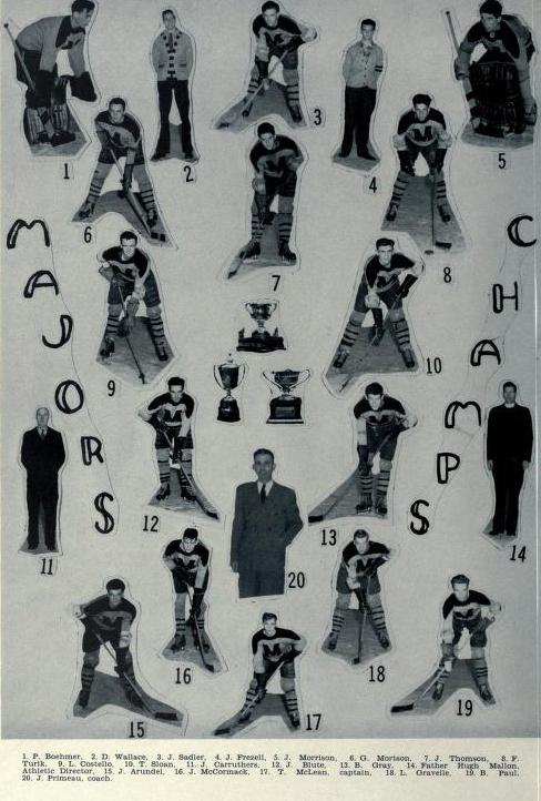1944-45 Memorial Cup Final