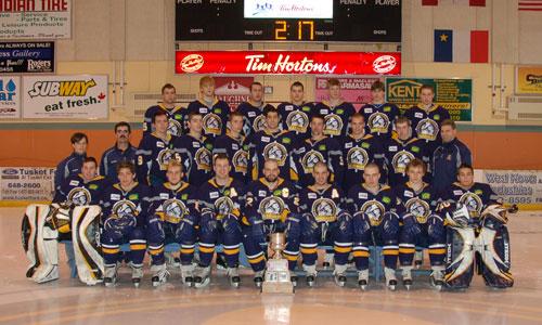 2007-08 MJAHL Season