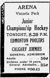 1931-32 Alberta Junior Playoffs