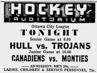 1944-45 Ottawa City Junior League
