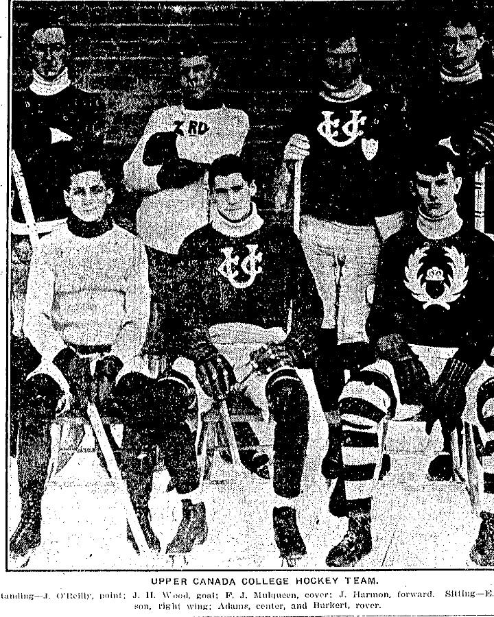 1907-08 OHA Junior Season