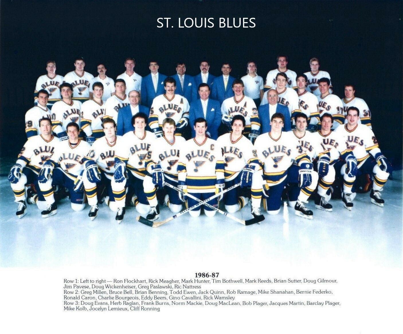 1986–87 St. Louis Blues season