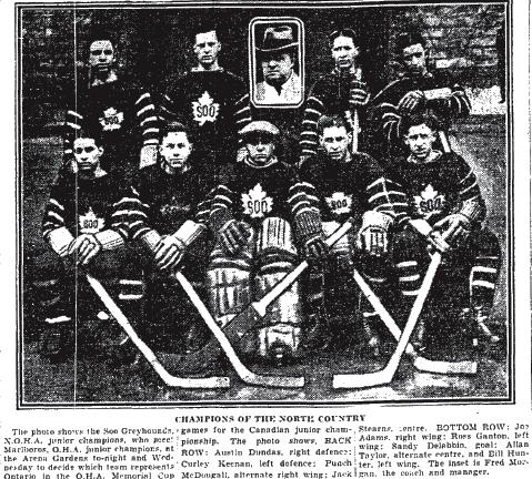 1928-29 Northern Ontario Junior Playoffs