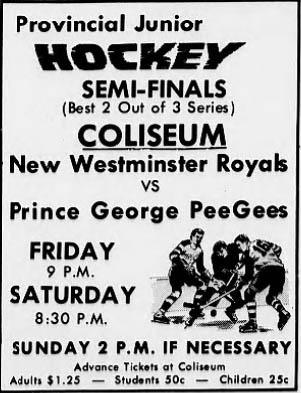 1964-65 British Columbia Junior Playoffs