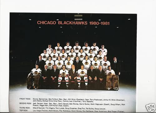 1980–81 Chicago Black Hawks season