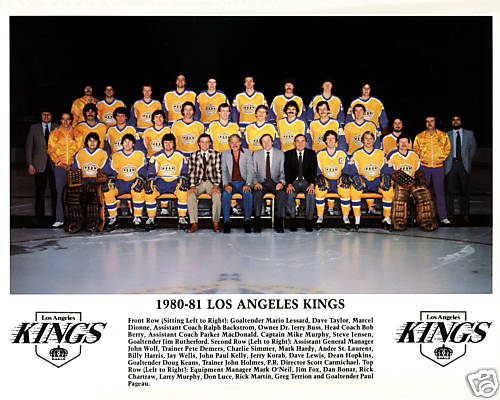 1980–81 Los Angeles Kings season