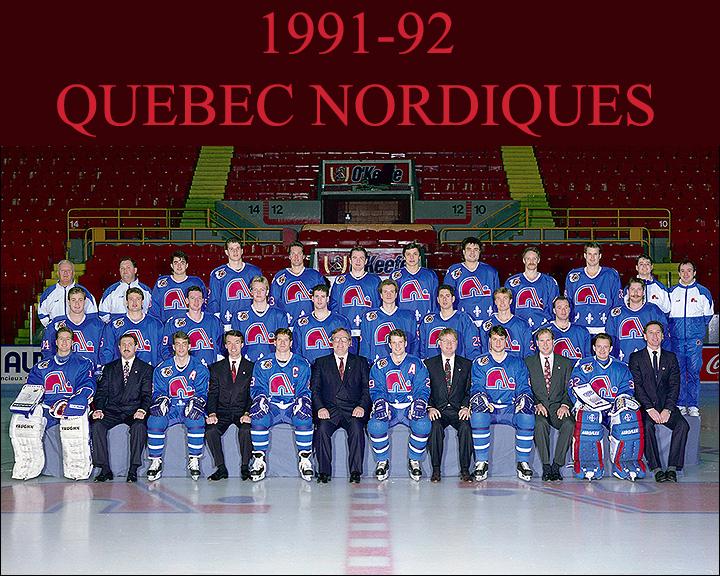 1991–92 Quebec Nordiques season