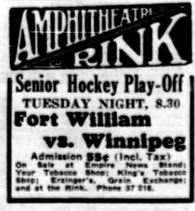 1935-36 Manitoba-Thunder Bay Senior Hockey League Season