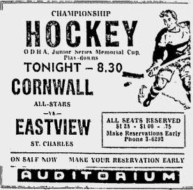 1953-54 Ottawa District Junior Playoffs
