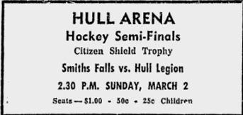 1957-58 Ottawa District Senior Playoffs