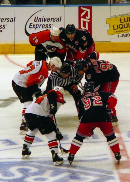 Flyers–Rangers rivalry