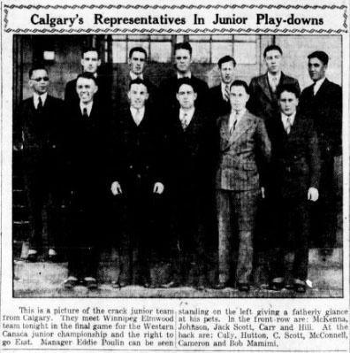 1928-29 Alberta Junior Playoffs