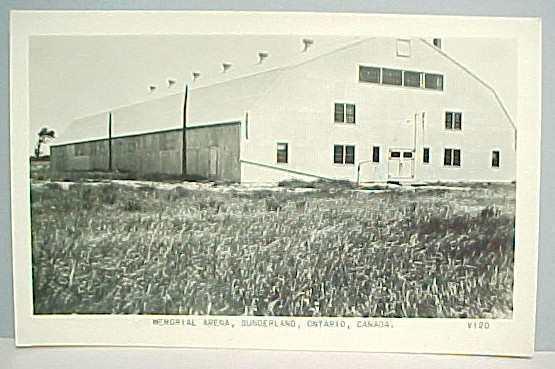Sunderland Memorial Arena