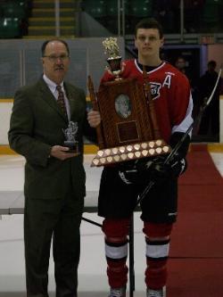 MJHL MVP Winners photo gallery