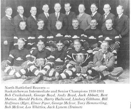 1930-31 Saskatchewan Senior Playoffs