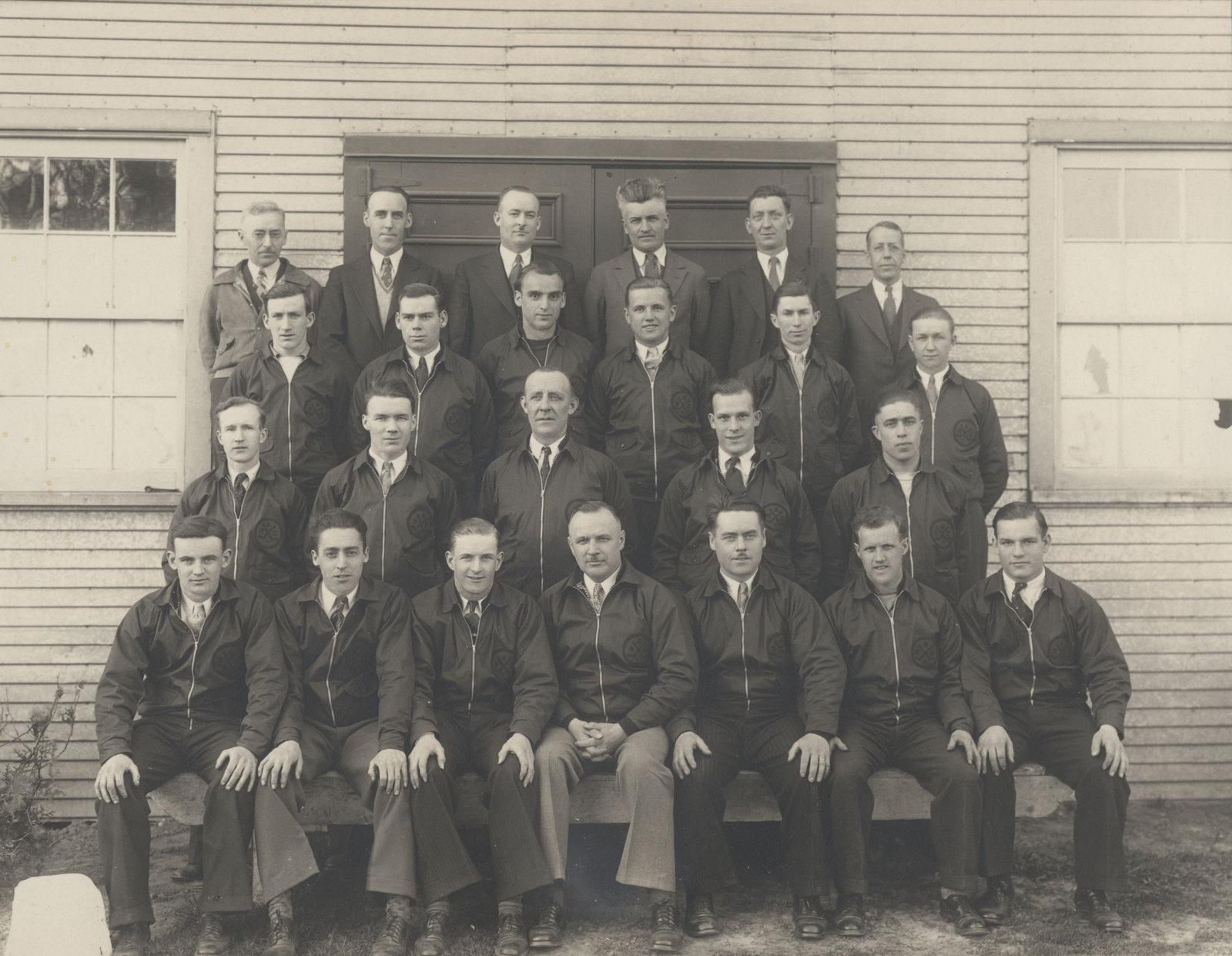 1934-35 OHA Intermediate B Groups